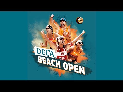Livestream DELA Beach Open 2019 - Hoofdtoernooi mannen vrouwen