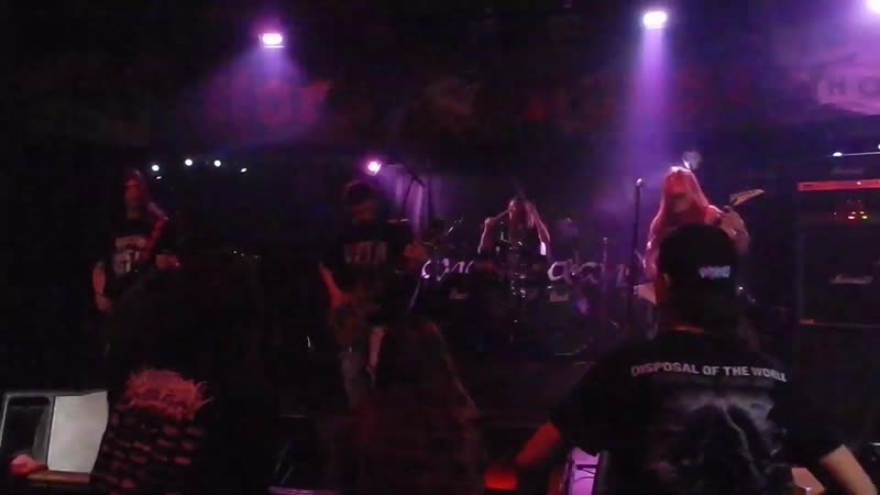 CAUSTIC VOMIT. Performing live in Moscow. Rock House club. 09 March 2019.