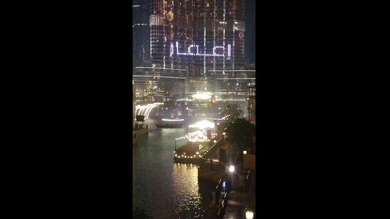 Поющие фонтаны и самая высокая башня в мире Бурдж Халифа