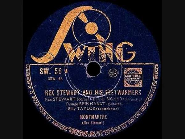 Django Reinhardt Rex Stewart - Montmatre - 1939 April 5 - Swing Paris