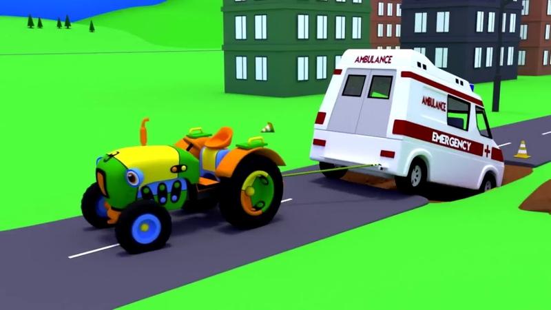 Мультики про машинки Развивающие мультфильмы для малыше