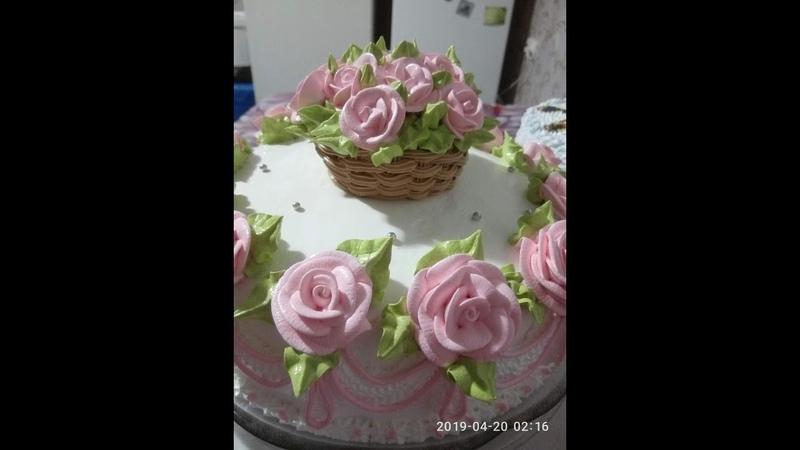 Торт И снова розыТорт Фиксики Cake Rose Again Cake Fixiki