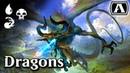 MTG Arena Grixis Dragons
