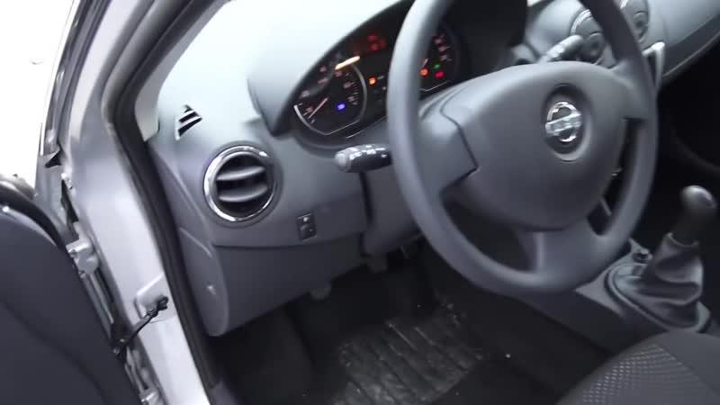 2014 Ниссан Альмера G15 Comfort. Обзор (интерьер, экстерьер, двигатель)