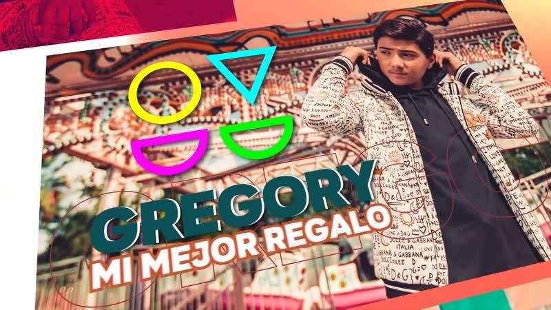 Gregory Quintana - Mi Mejor Regalo (2 Ver.) Lyric Video • США | 2018