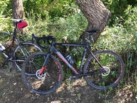 Был подготовлен в нашей мастерской кроссовый велосипед Cube Cross Race