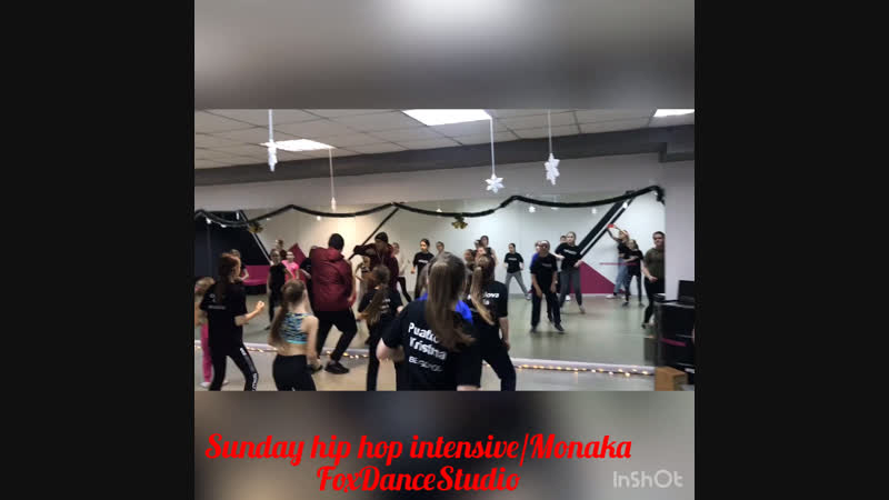 Hip Hop IntensiveFoxDanceStudioMonaka
