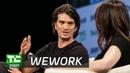 Optimizing space itself with WeWork's Adam Neumann | Disrupt NY 2017