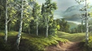 Birch Tree Valley | Paint with Kevin ®