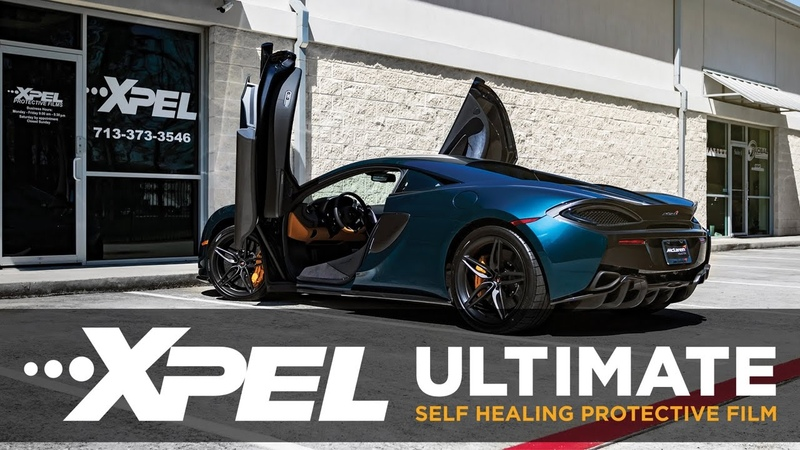 2017 McLaren 570S Protected with XPEL ULTIMATE Clear Bra