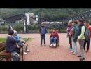На Красной Поляне Роза Хутор репетируем сценку о Нижнем Новгороде