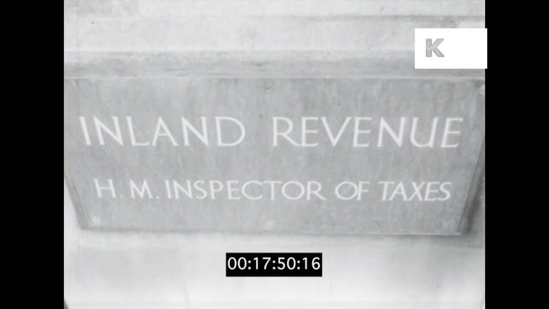 1950s UK HMRC, Inland Revenue