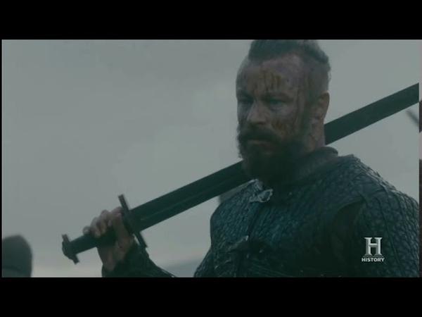 Конунг Харальд убил своего брата. Викинги 5 сезон 10 серия.