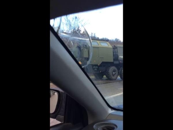 Серьезное ДТП в Севастополе: столкнулись автобус и Жигули