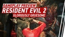 Resident Evil 2 Remake Gameplay - 6 Minutes of Claire vs. Birkin