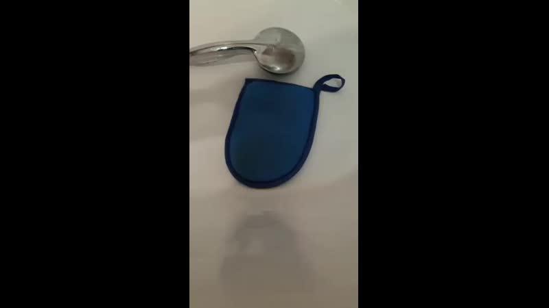 Уход после использования варежки-мочалки NEGA