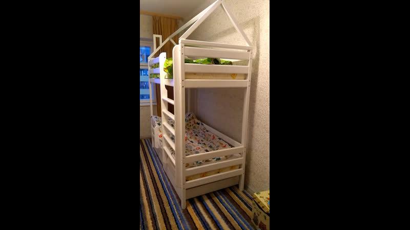 Отзыв о детской двухъярусной кровати Двушка