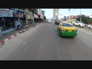 Best illegal street racer of pattaya