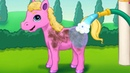 Princess Pet Castle – Play Fun Baby Care And Animal Horse Hair Salon Make Up Games for Girls