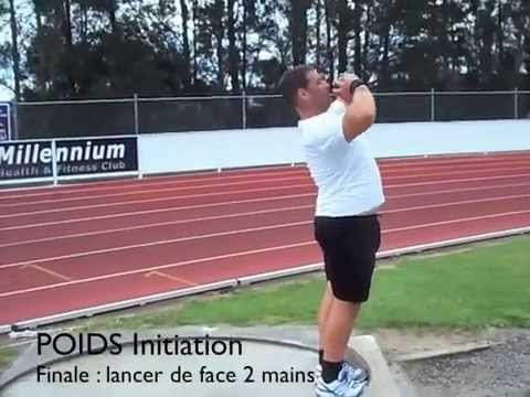 SHOT PUT Linear Exercises by Didier POPPE PART 3 5-POWER POSITION 6-DELIVERY.m4v