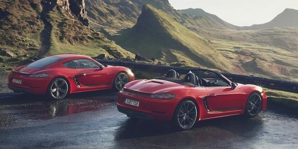 Porsche выпустила экстремальные версии базовых 718 Boxster и Cayman.