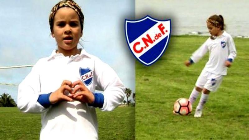 ¡Mahia Macías, la nena que puede cambiar el futuro del fútbol! [Su nota completa con SportsCenter]