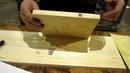 Как клеить шпон на мебельный щит