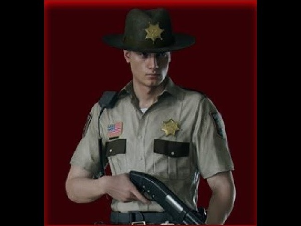 Resident Evil 2 Remake - Leon Kennedy DLC Arklay Sheriff Costume Trailer