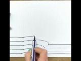 3Д рисунок руки