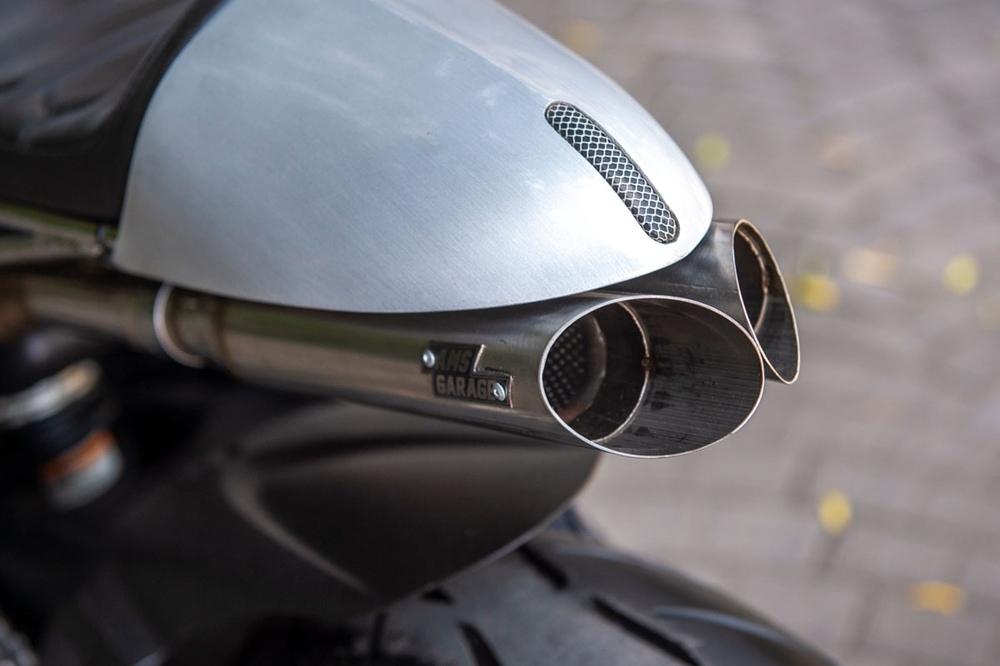 AMS Garage: кафе рейсер Kawasaki ZZR600 Badak Agung