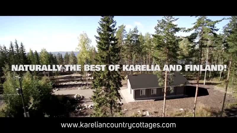 Karelian Country Cottages Paradise in Lakeland Finland