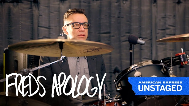 Fred Armisen Mocks Drummer Nathan Followill (Amex UNSTAGED Kings Of Leon)