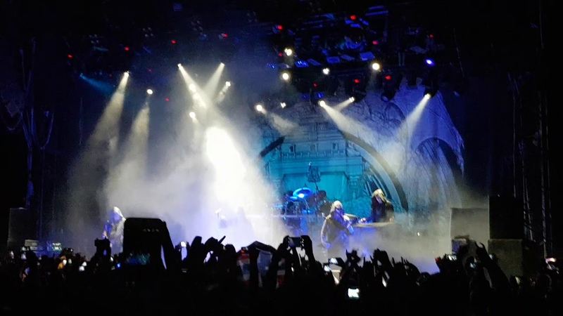 Dimmu Borgir - Intro, The Unveiling (live in GlavClub, Moscow, 20.09.2018)