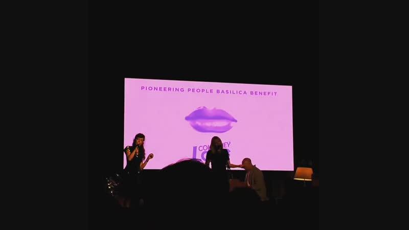 Softer Softes - Hole (Courtney Love Melissa, Auf der Maur, Roddy Bottum) - Basilica Hudson 2018 10 27