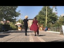 Самая Бомбовая Лезгинка С Красавицей В Суперском Платье 2018 ALISHKA AZARINA Махачкала Парк Дракон