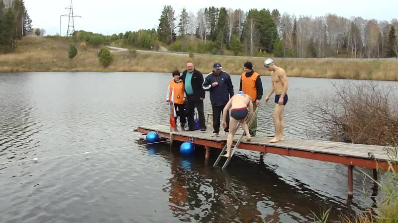Заплыв ребят из команды СнеГири