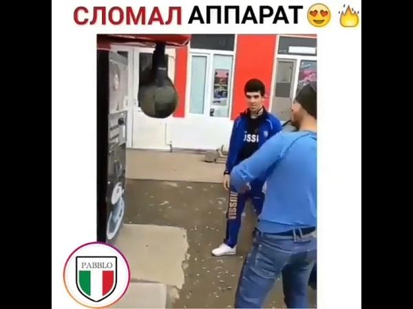 Сломал аппарат и сбил грушу 2018