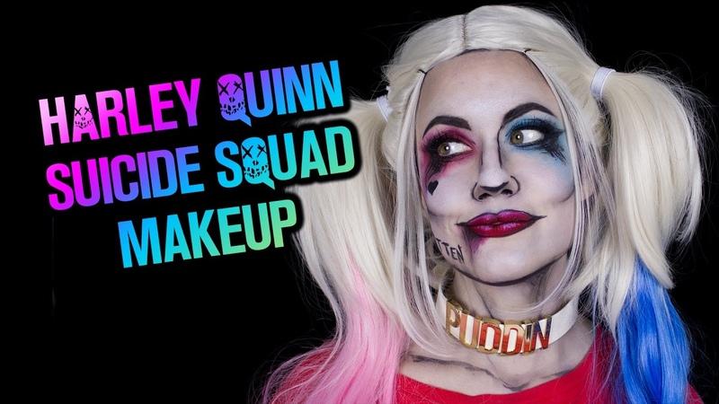 Harley Quinn Suicide Squad Pop Art Halloween Make-up