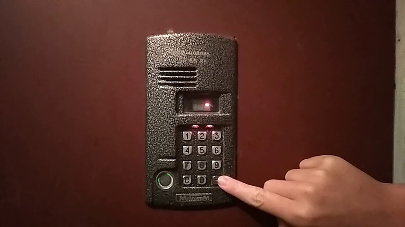 Код открытия двери домофона МЕТАКОМ МК2003