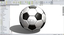 SolidWorks Tutorial Soccer ball