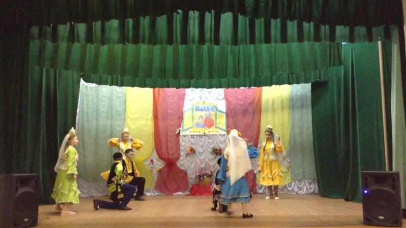 Выступления танцевального коллектива Йолдыз