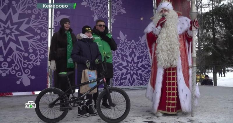Путешествие Деда Мороза. Кемерово.
