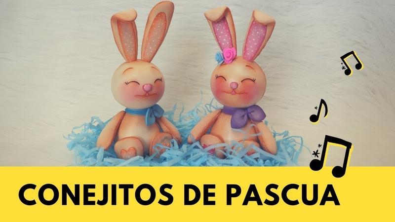 Diy Tiernos conejitos de Pascua