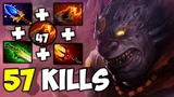 LION 57 Kills [EPIC MAGIC DAMAGE] 7.20 Dota 2