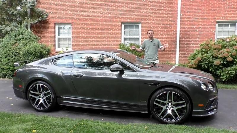 Bentley Continental SuperSports это Hellcat от Bentley за $310 000
