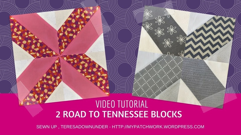 2 Road to Tennessee blocks