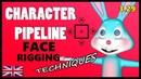 CHARAKTER PIPELINE | Cinema 4D Rigging | Face Rigging Techniques 3.29