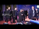 LIVE: Formula One awards gala in St Petersburg: red carpet arrivals