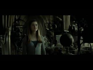 7.Гарри Поттер и Принц-полукровка - Поцелуй Гарри и Джинни