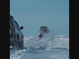 Путешествие на Land Cruiser 200 за полярный круг